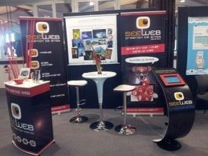 L'agence SeeWeb de Vannes au Salon Planète E-commerce 2014.